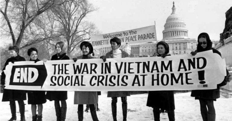 anti war movement vietnam essay